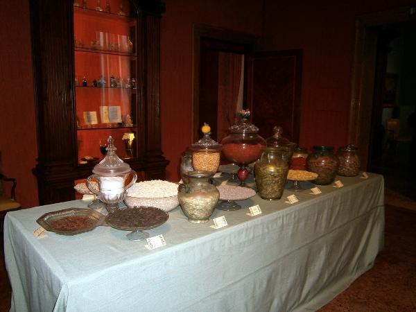 le materie prime - Museo del Profumo Venezia