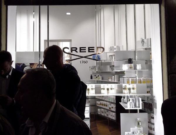 Creed via della Madonnina Milano 1